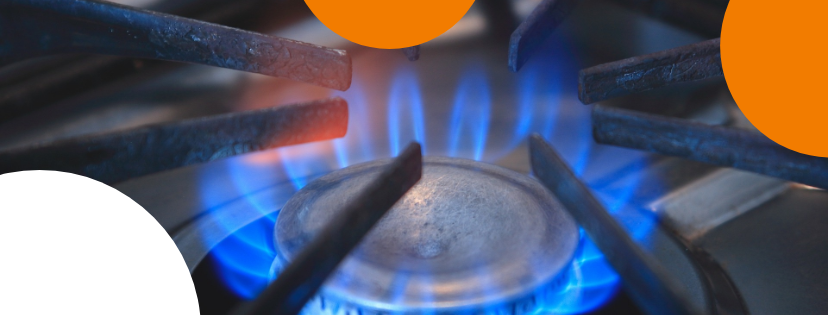 blauwe vlam gasfornuis